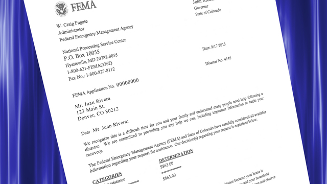 HOW TO Applicants May Appeal an Initial FEMA Determination Letter - fema application form