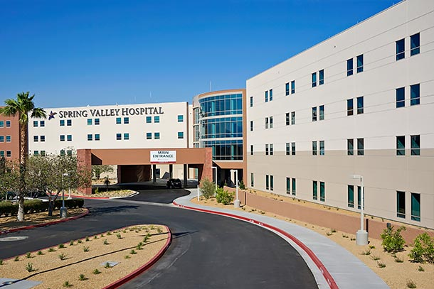 About Spring Valley Hospitail in Southwest Las Vegas, NV