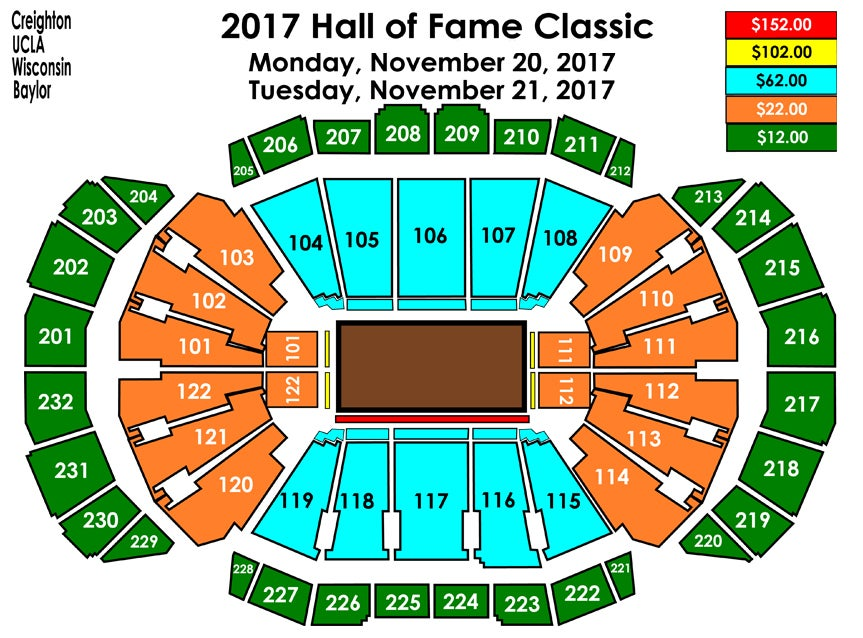Hall of Fame Classic Sprint Center