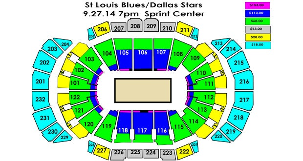 Dallas Stars Seating Chart - Best Seat 2018