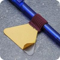 Pen holders, with flat elastic loop, self-adhesive ...