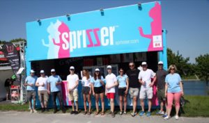 New Sprisser Bar and Team at Donauinselfest
