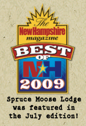 Spruce Moose Lodge and Cottages ~ North Conway, NH Bed and ...