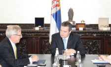 Ивица Дачић са амбасадором Кирбијем