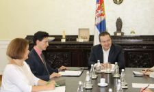 Састанак Дачића са амбасадором Украјине