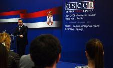 Председавајући ОЕБС-у министар Дачић одржао конференцију за новинаре у Комбанк Арени