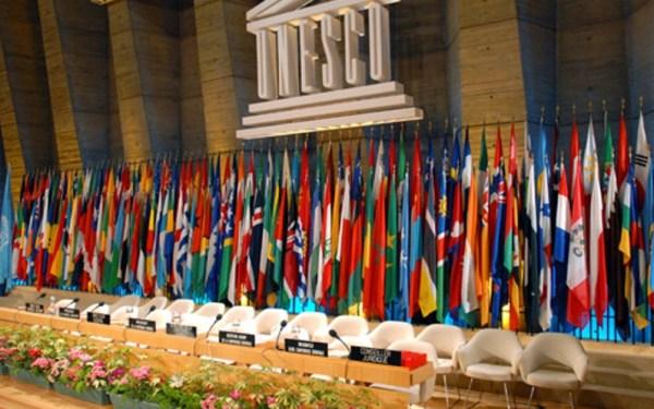 Обраћање Дачића у генералној дебати 38. заседања ГК Унеска