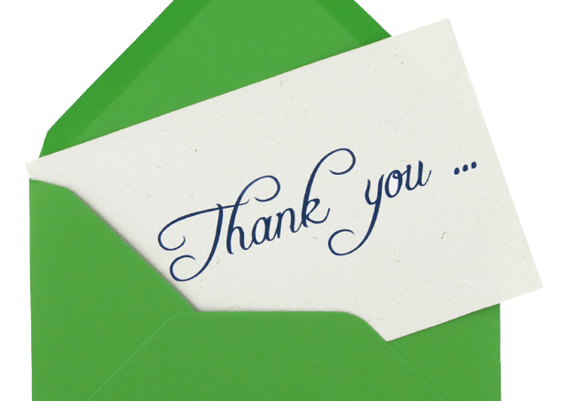 Why you should write thank-you notes Society of Physics Students