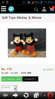 Shopclues Loot