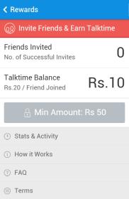 Hike Free Talktime Offer