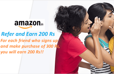amazon refer and earn 200 rs