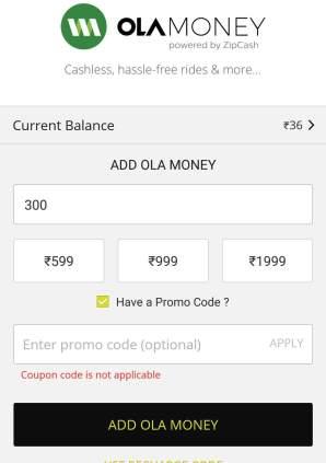ola ahmedabad coupon code