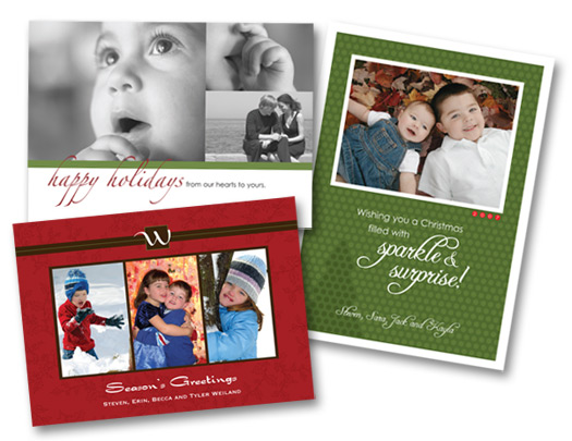 SQ1 Photo Holiday Cards Home