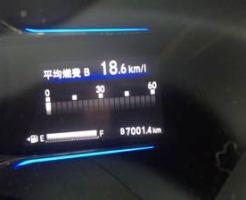 ホンダ ヴェゼル 燃費 7000km