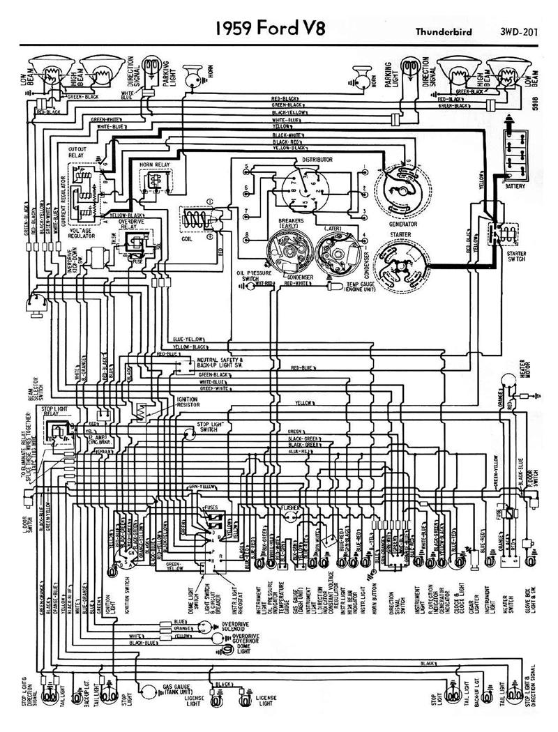 56 thunderbird free wiring diagram