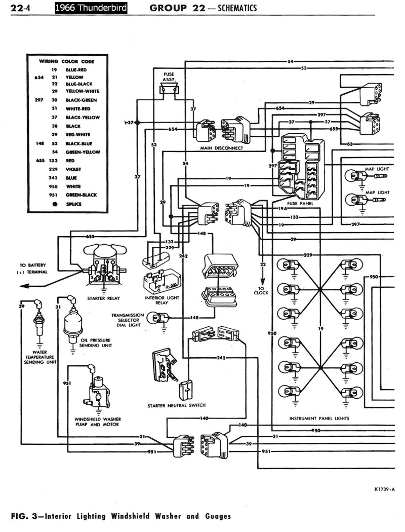 1968 ford wiring diagram
