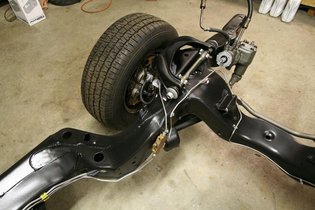 Squid\u0027s Fab Shop 1967 GTO Frame Restoration