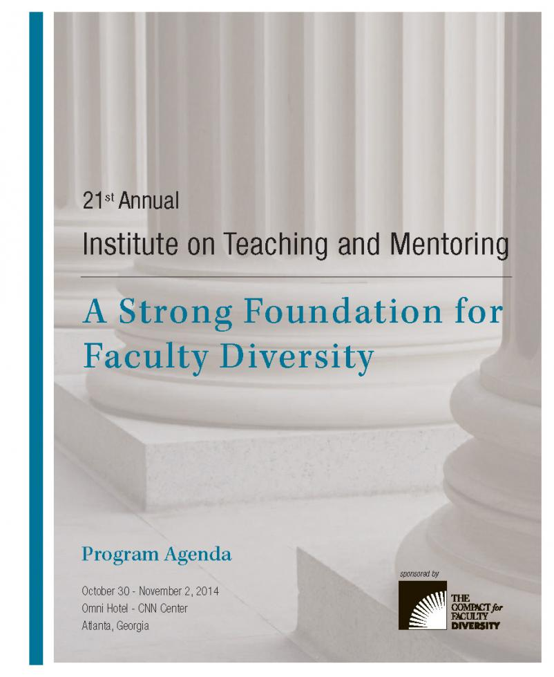 Agenda 21st Annual Institute on Teaching and Mentoring - Southern