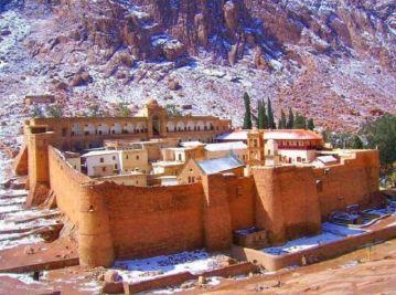 Манастир Свете Катарине (Извор: https://www.realmofhistory.com/2017/07/08/hippocrates-medical-recipe-st-catherines-monastery/)