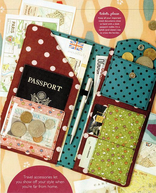 get all your travel documents ready