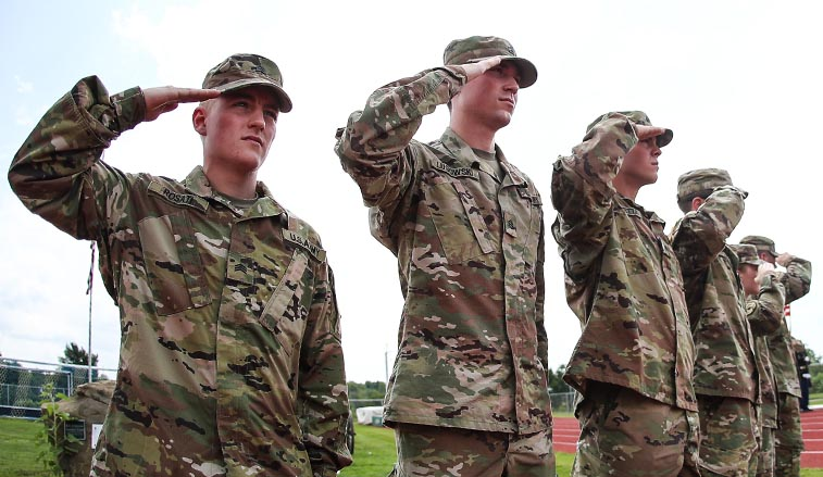 SRU\u0027s Army ROTC cadre deploys for Field Training Exercise Slippery