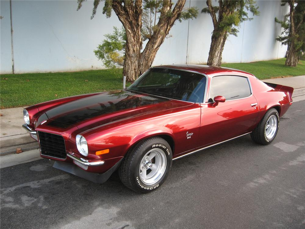 1972 Camaro Parts and Restoration Information
