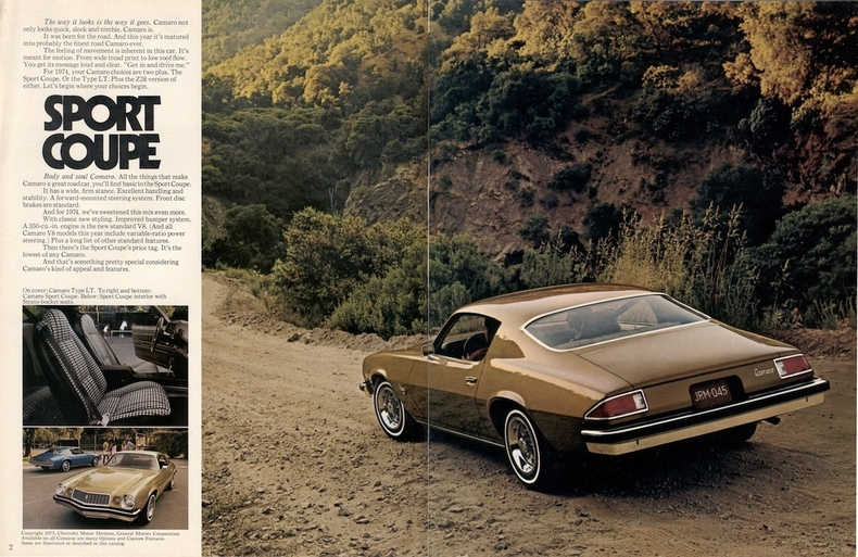 1974 Camaro Parts and Restoration Information