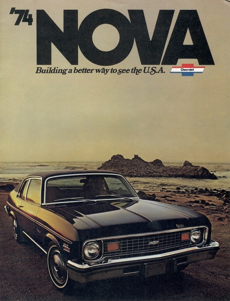 1974 Nova Parts and Restoration Information