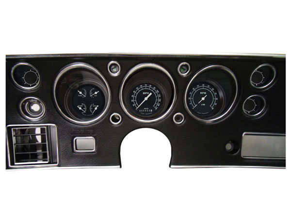 1970-1972 El Camino SS Classic Instruments Gauge Kit Traditional Series