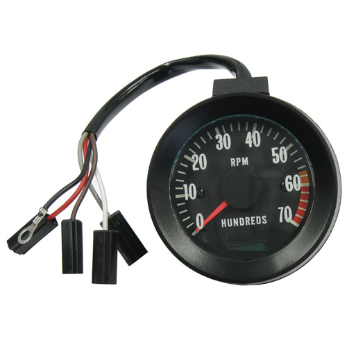 1967 El Camino Blinker Tachometer With 6000 Rpm Redline