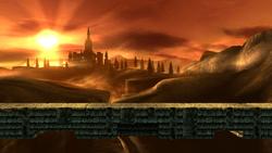 Zelda Ocarina Of Time 3d Wallpaper Bridge Of Eldin Smashwiki The Super Smash Bros Wiki