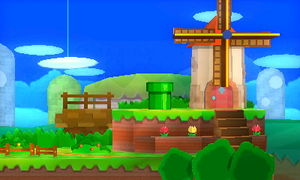 3d Video Wallpaper Player Paper Mario Smashwiki The Super Smash Bros Wiki