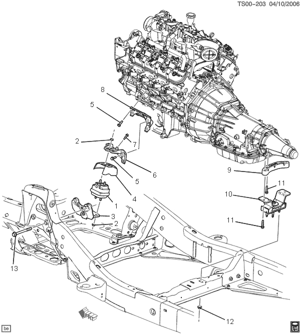 trailblazer engine parts diagram