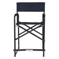 Dura-Tech Tall Folding Director's Chair in Stall Drapes ...