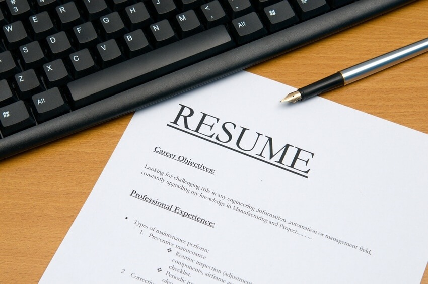resume services in san diego