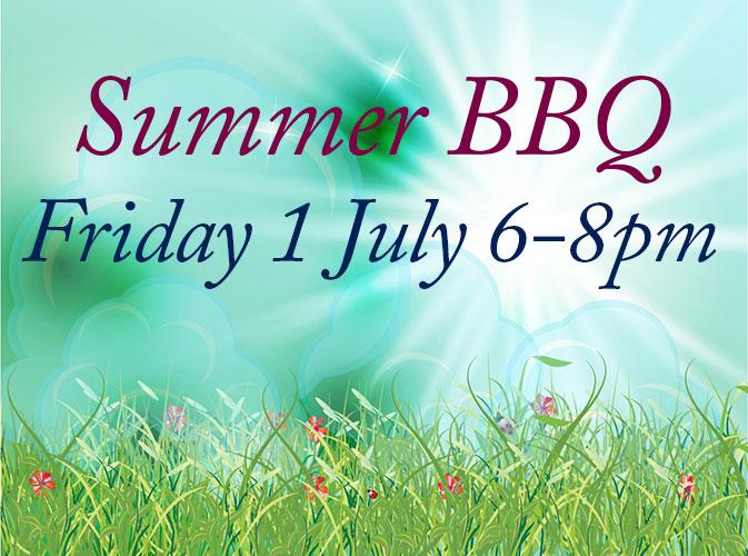 Summer BBQ – Friday 1st July
