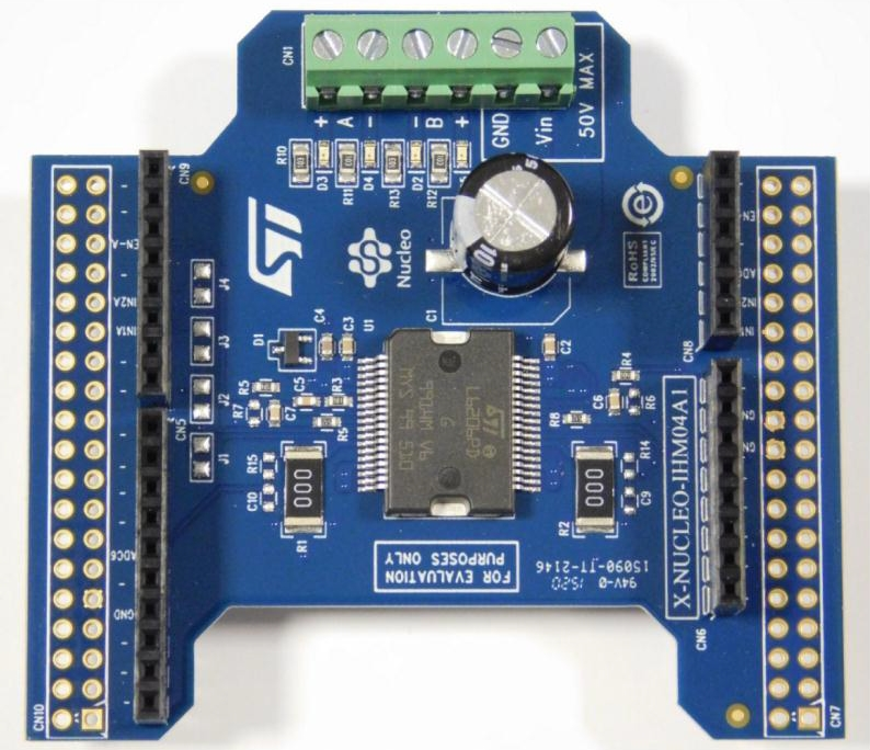 Brushed DC Motor Driver IC - STMicroelectronics
