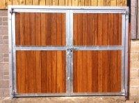 External Barn Doors   Swinging and Sliding Barn Doors