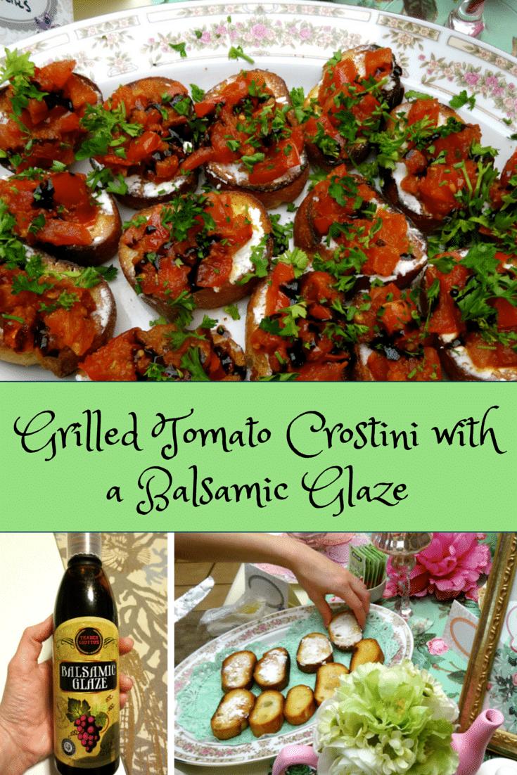 ... roasted peach crostini artichoke olive crostini tomato basil crostini