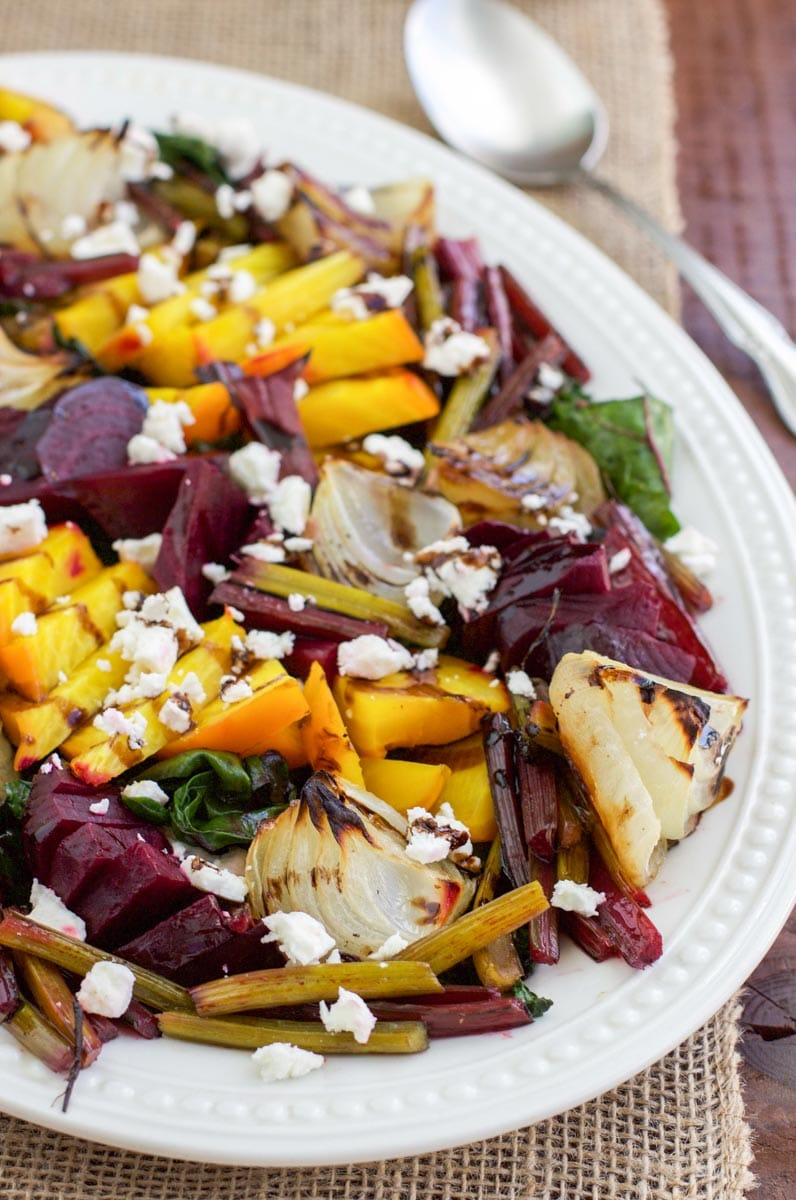 Sweet roasted beet and onion salad is the best side dish for summer ...