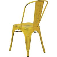 Set of 4 Yellow Stacking Chair BRW29A4-AY ...