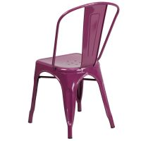 Purple Metal Chair ET-3534-PUR-GG | StackChairs4Less.com