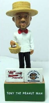 Tony the peanut man-bobblehad_Charlote Riverdogs-4-17-14