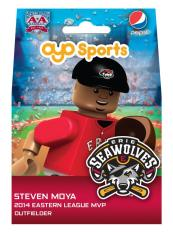 Steven Moya OYO Figurine - Erie Seawolves - Detroit Tigers