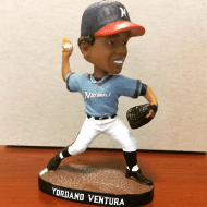 Yordano Ventura Bobblehead - Northwest Arkansas Naturals - Kansas City Royals