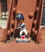 desmond jennings bobblehead - memphis biscuits - tampa bay rays