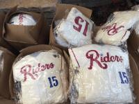 pillow jersey - frisco roughriders - texas rangers