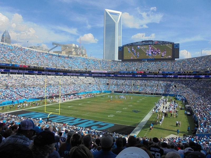 Bank of America Stadium, Carolina Panthers football stadium