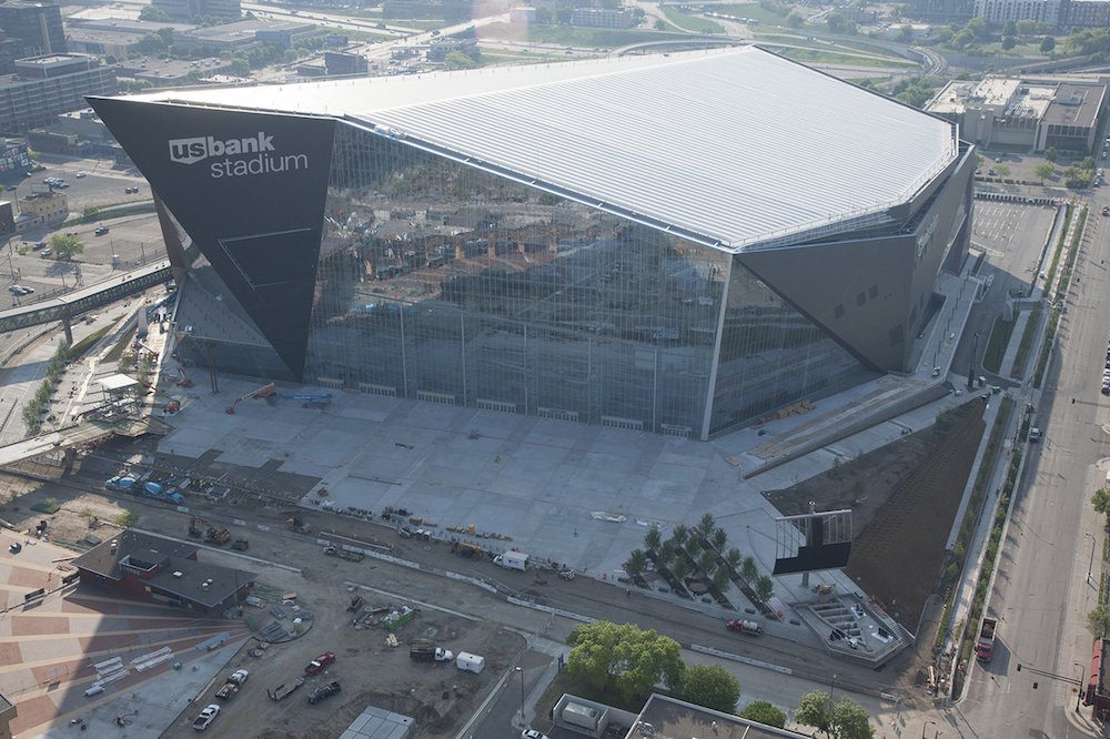 US Bank Stadium, Minnesota Vikings football stadium - Stadiums of