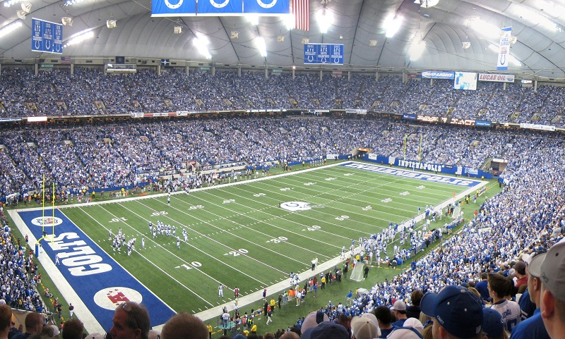RCA Dome - History, Photos  More of the former NFL stadium of the
